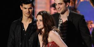 Twilight-gjengen på MTV Movie Awards 2011