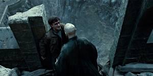 Daniel Radcliffe og Ralph Fiennes i Harry Potter og Dødstalismanene - Del 2