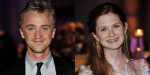 Tom Felton og Bonnie Wright
