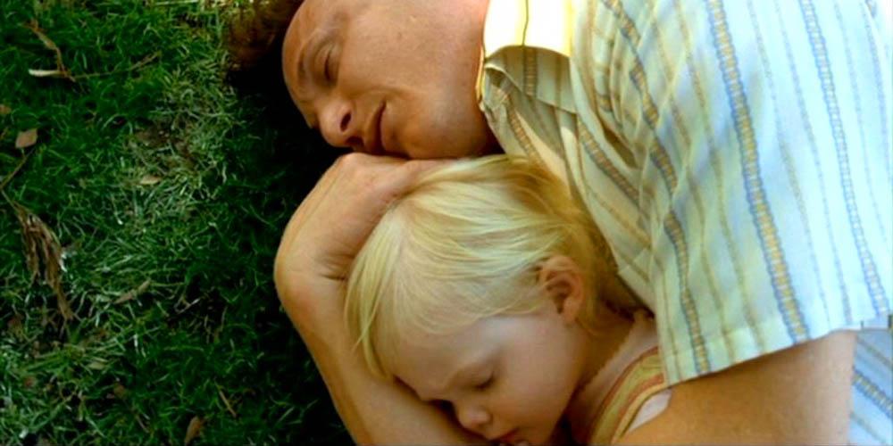 Sean Penn og Elle Fanning i I Am Sam