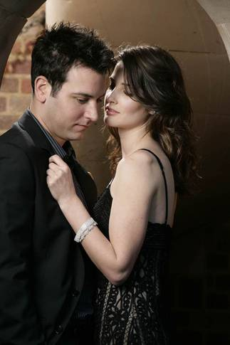 Josh Radnor og Cobie Smulders i How I Met Your Mother