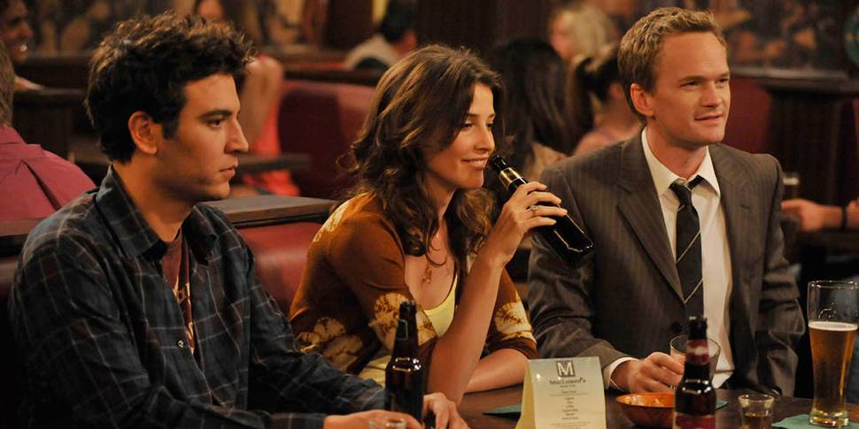 Josh Radnor, Cobie Smulders og Neil Patrick Harris i How I Met Your Mother