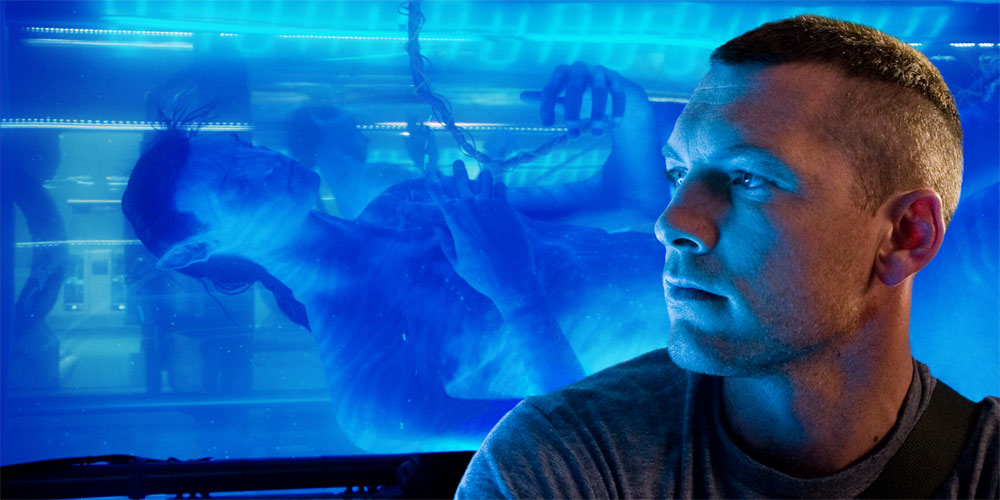 Sam Worthington som Jake Sully i Avatar