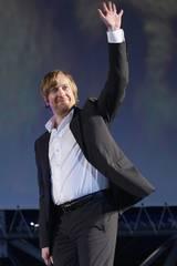 Morten Tyldum på Festival del Film di Locarno i forbindelse med Hodejegerne