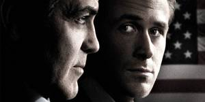 George Clooney og Ryan Gosling i The Ides of March