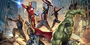 The Avengers promo art
