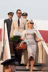 Michelle Williams som Marilyn Monroe og Dougray Scott som Arthur Miller i Marilyn - A Love Story