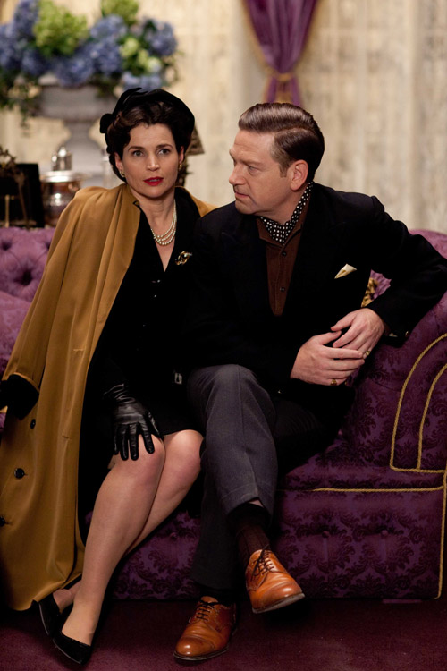 Julia Ormond som Vivien Leigh og Kenneth Branagh som Sir Laurence Olivier i Marilyn - A Love Story