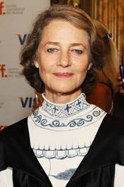Charlotte Rampling på premieren til The Eye Of The Storm