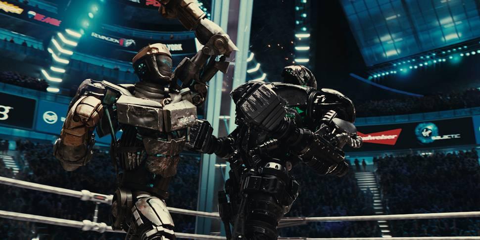 Atom slåss mot Zeus i Real Steel