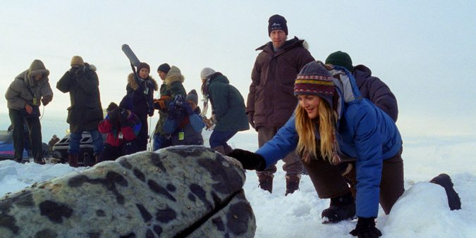 Drew Barrymore i Big Miracle