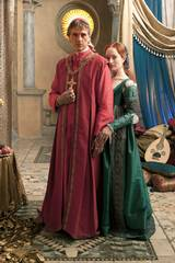 Jeremy Irons og Lotte Verbeek i The Borgias - sesong 1