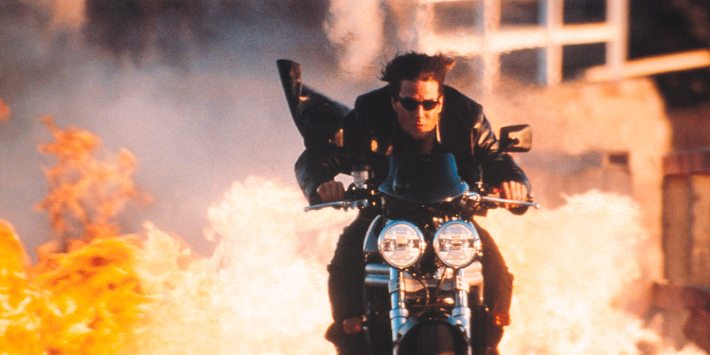 Ethan Hunt (Tom Cruise) i Mission: Impossible 2