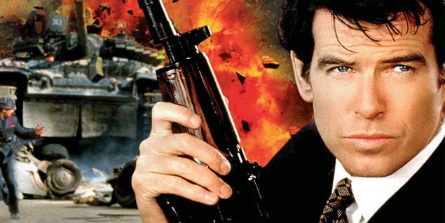 Pierce Brosnan i James Bond: GoldenEye