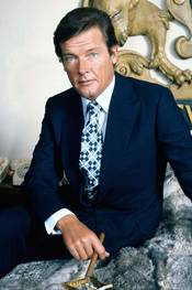 Roger Moore i Live and Let Die