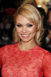 MyAnna Buring på den britiske premieren til The Twilight Saga Breaking Dawn
