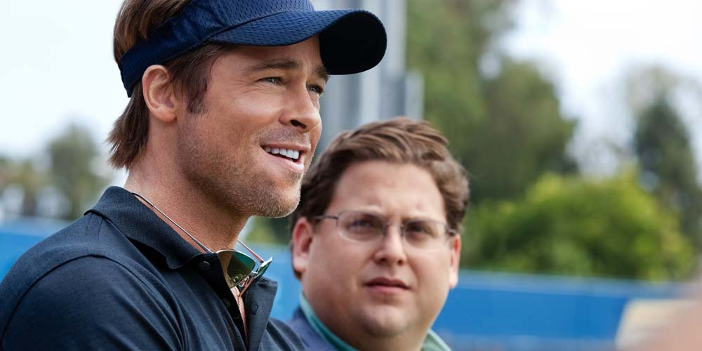 Brad Pitt og Jonah Hill i Moneyball