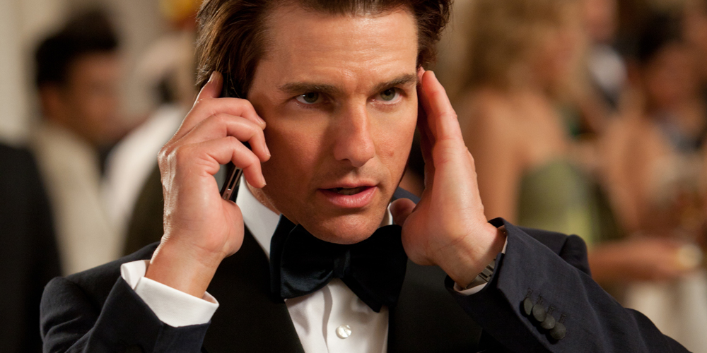 Tom Cruise i Mission: Impossible - Ghost Protocol