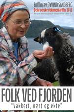 Folk ved fjorden