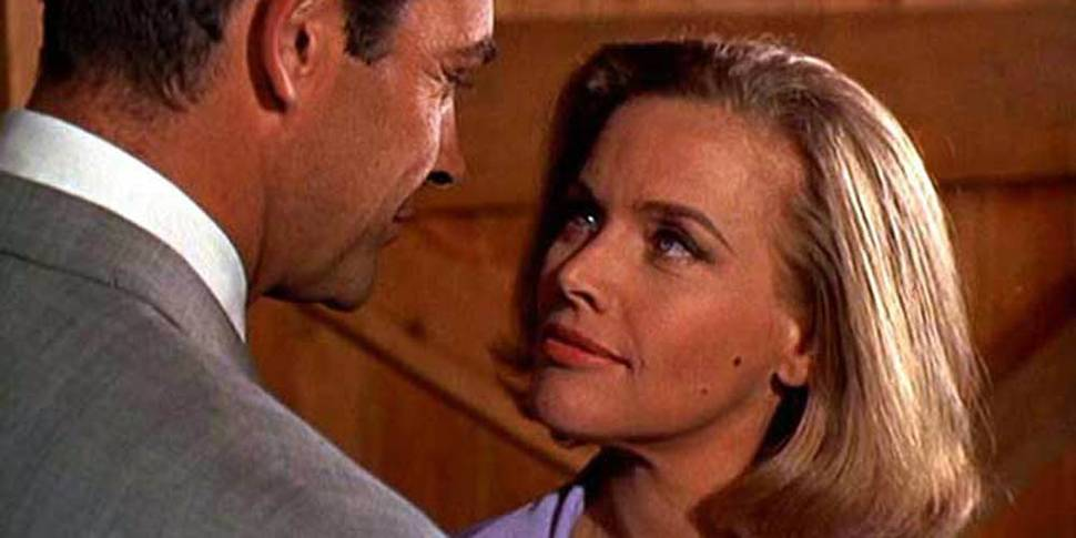 Sean Connery og Honor Blackman i Goldfinger
