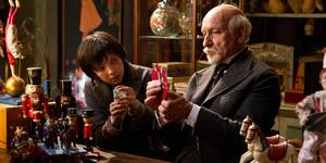 Asa Butterfield og Ben Kingsley i Hugo Cabret