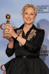 Meryl Streep vant Golden Globe 2012 for rollen i Jernkvinnen