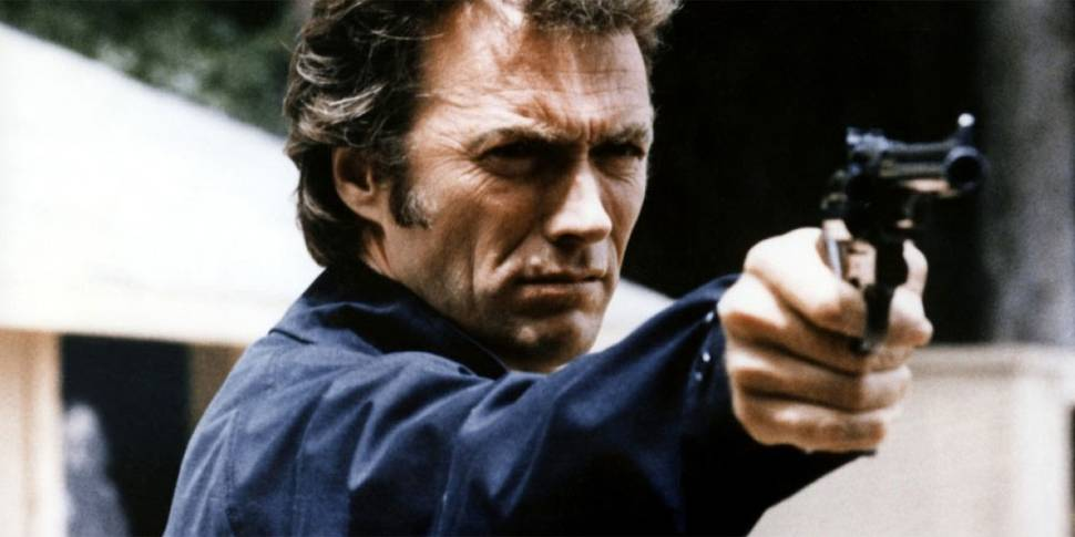 Clint Eastwood som Dirty Harry i Magnum Force