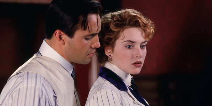 Billy Zane og Kate Winslet i Titanic