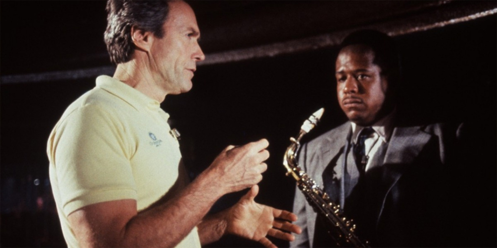 Clint Eastwood instruerer Forest Whitaker i Bird (1988)