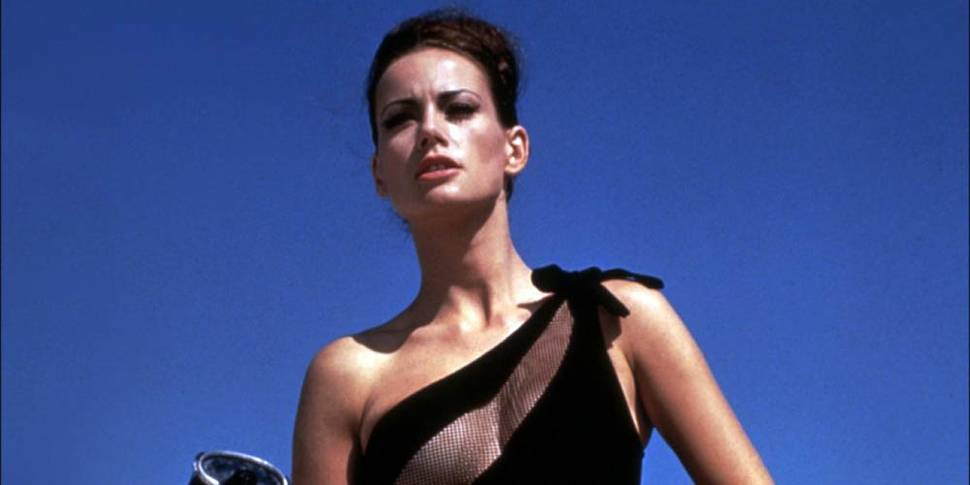 Claudine Auger som Domino Derval i Thunderball