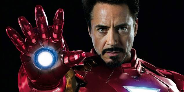 Iron Man (Robert Downey Jr.) fra The Avengers