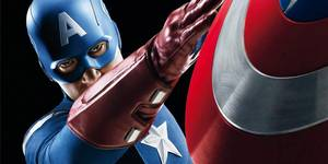 Captain America (Chris Evans) fra The Avengers