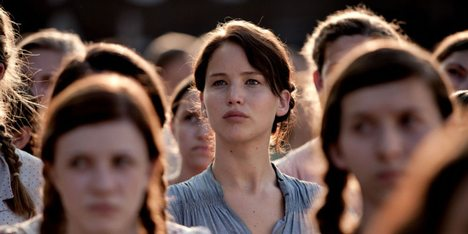 Jennifer Lawrence i The Hunger Games