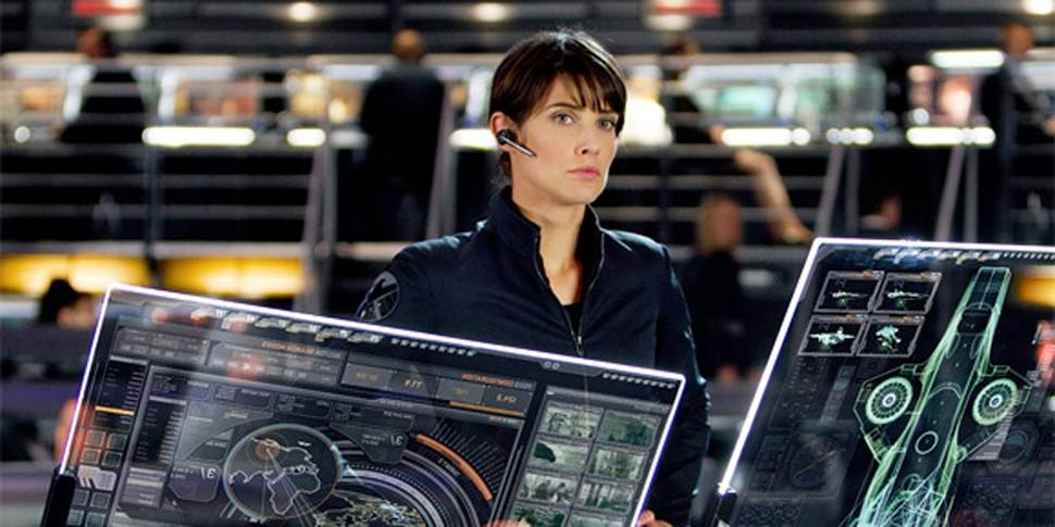 Cobie Smulders i The Avengers