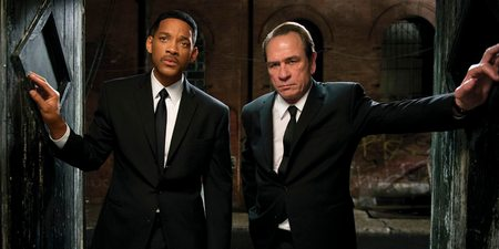 Will Smith og Tommy Lee Jones i Men in Black 3