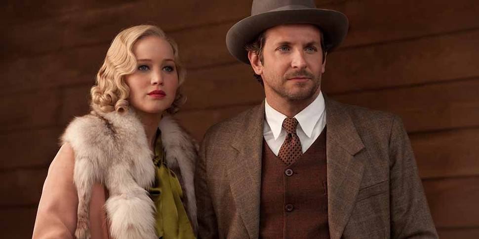 Jennifer Lawrence og Bradley Cooper i Susanne Biers Serena