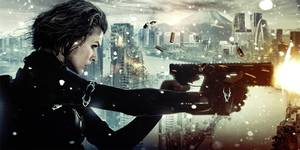 Milla Jovovich i Resident Evil: Retribution