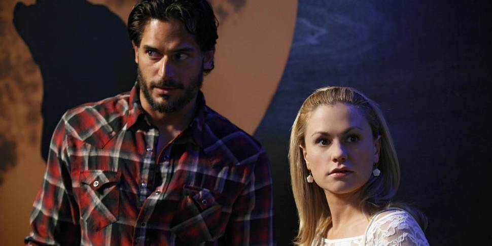 Joe Manganiello og Anna Paquin i True Blood