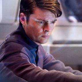 Karl Urban i Star Trek (2009)