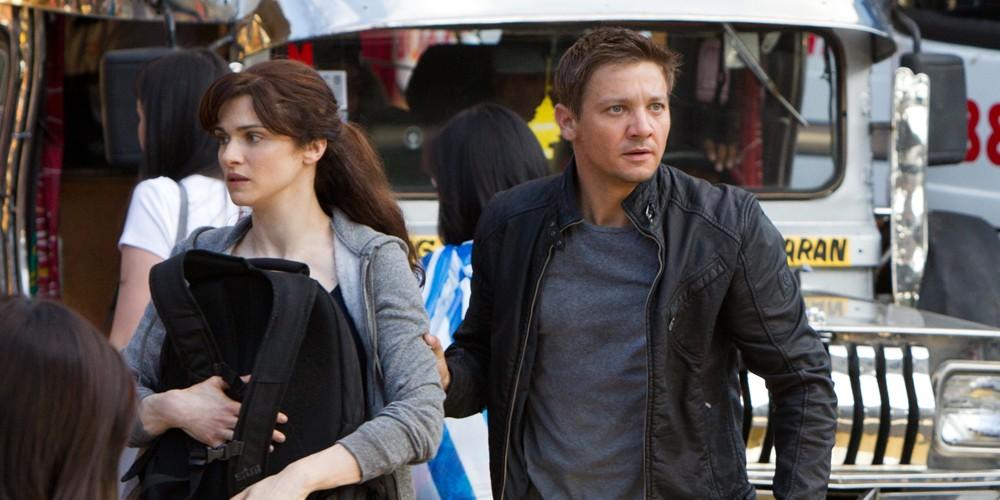 Jeremy Renner og Rachel Weisz i The Bourne Legacy
