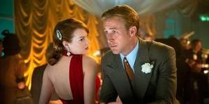 Emma Stone og Ryan Gosling i Gangster Squad