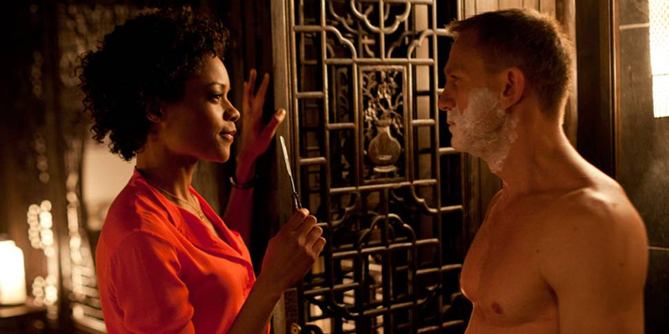 Naomie Harris og Daniel Craig i James Bond: Skyfall