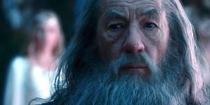 Gandalf (Ian McKellen) i Hobbiten: En uventet reise