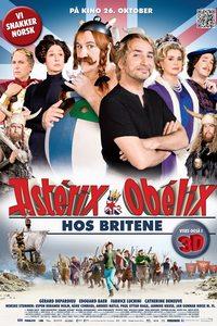 asterix og obelix hos britene norsk plakat
