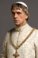 Jeremy Irons spiller Rodrigo Borgia i The Borgias sesong 2