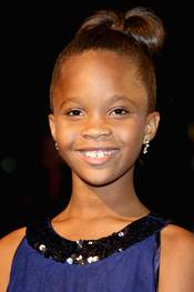 Quvenzhané Wallis under London Film Festival 2012