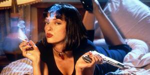 Uma Thurman i Pulp Fiction