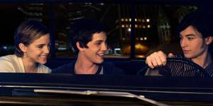 Emma Watson, Logan Lerman og Ezra Miller i The Perks of Being a Wallflower