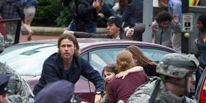 Brad Pitt i World War Z