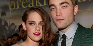 Kristen Stewart og Robert Pattinson på premieren til Breaking Dawn – Part 2
